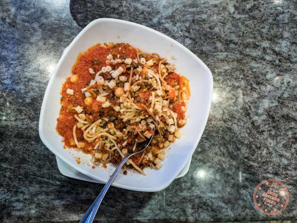 koshary about tarek street food restaurant in cairo