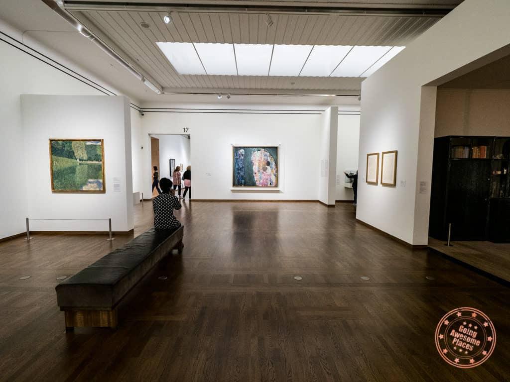 leopold museum gustav klimt gallery vienna