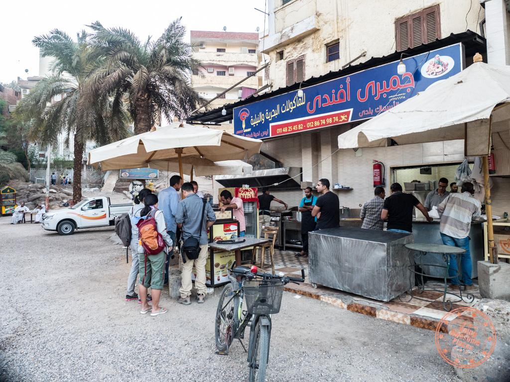 local seafood restaurant aswan