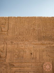 medical devices relief carvings temple kom ombo