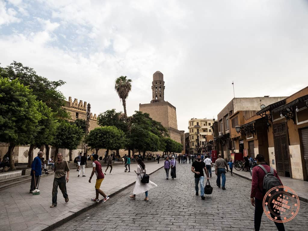 muizz street old cairo