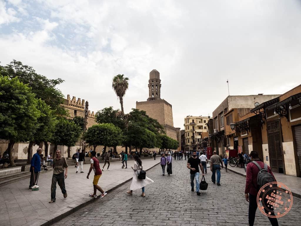 muizz street old cairo