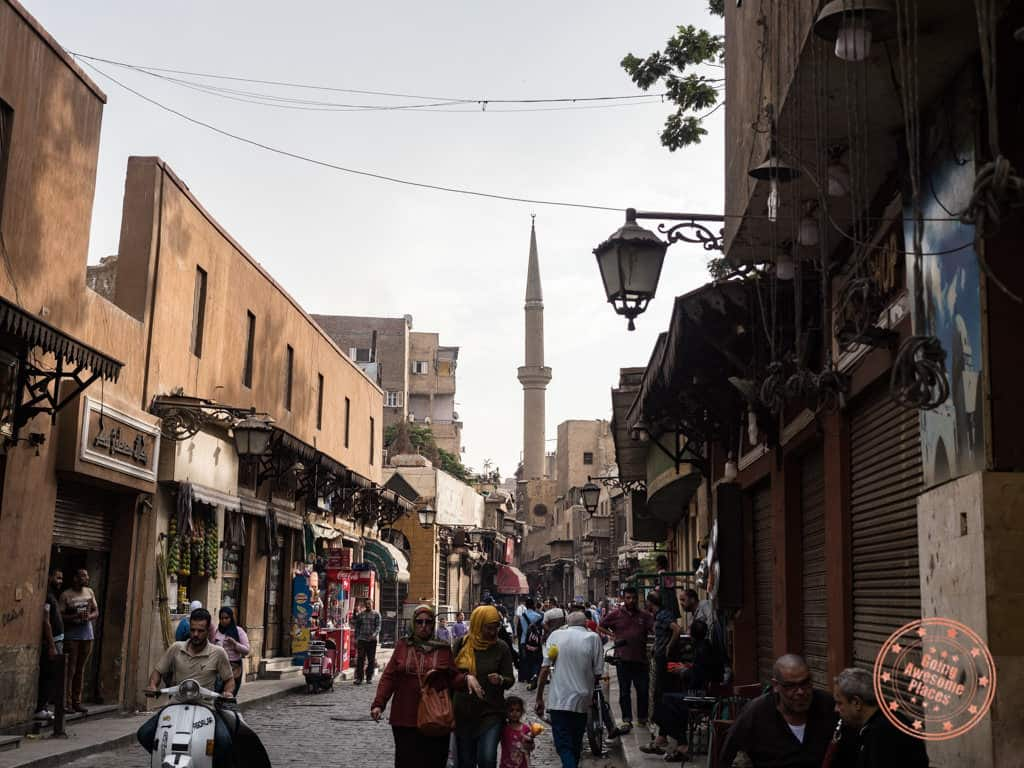 old cairo souk streets