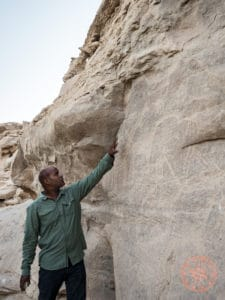 wadi el shat petroglyphs excursion
