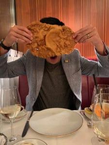 schnitzel size of my face at meissl schadn