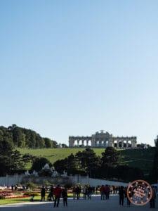 schonbrunn palace gloriette