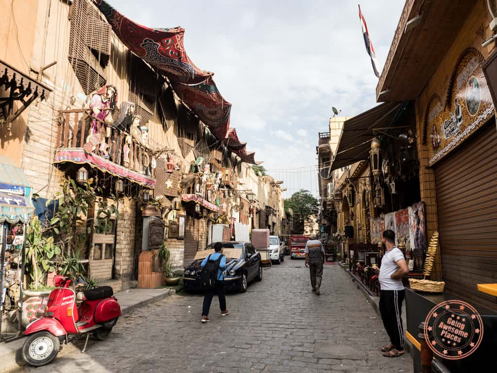old streets of cairo
