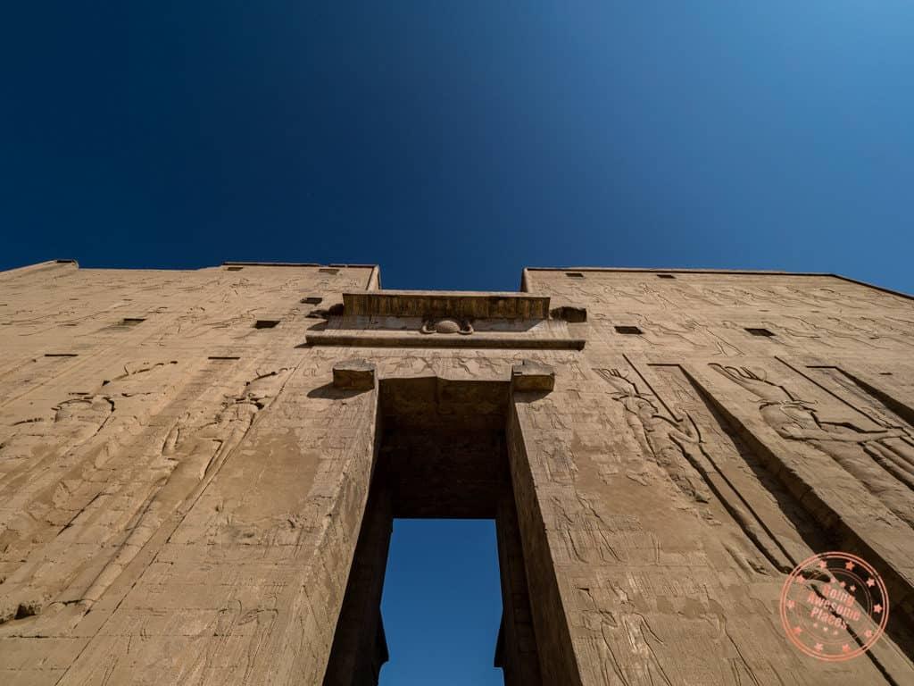 temple of edfu napoleon target practice