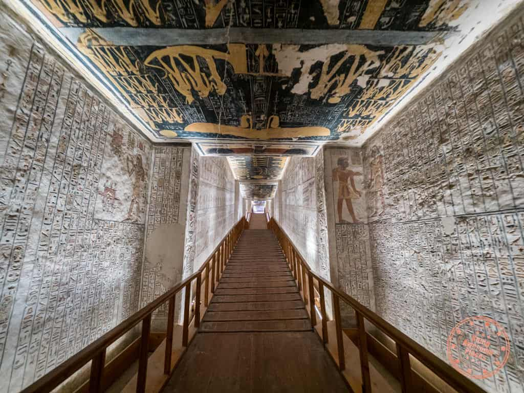 valley of the kings luxor west bank ramses tomb 10 day egypt itinerary