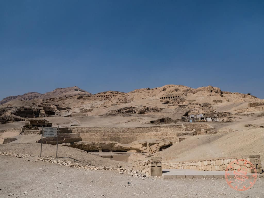 valley of the nobles in luxor egypt