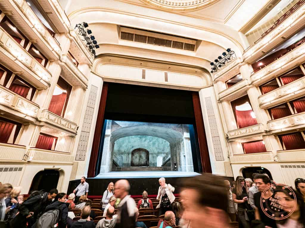 vienna state opera house guided tour