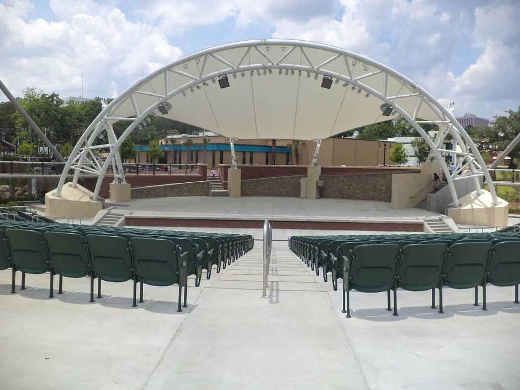 the capital city amphitheater of tallahassee