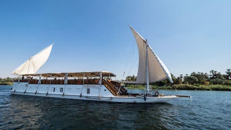 nile cruise from luxor to aswan dahabiya review guide