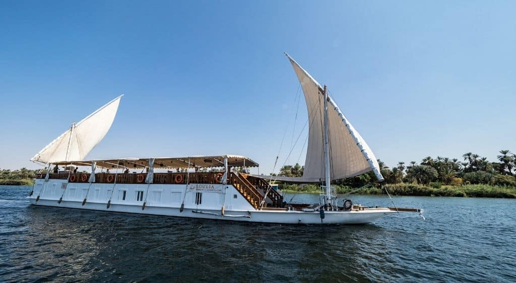 nile cruise from luxor to aswan dahabiya review guide
