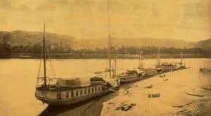 classic dahabiya history from 19th century