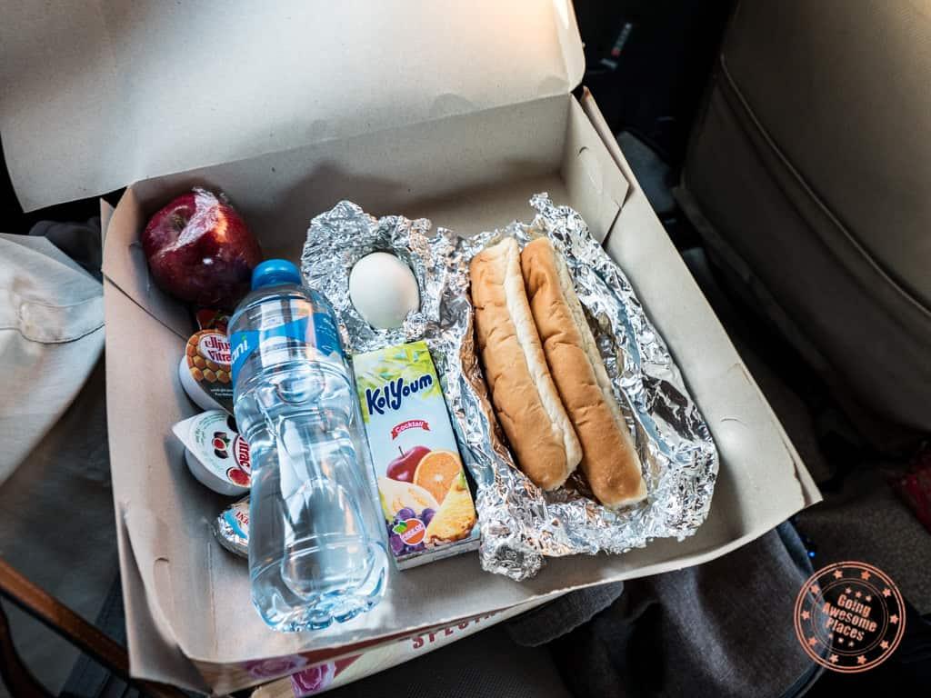 dahabiya nile cruise breakfast box