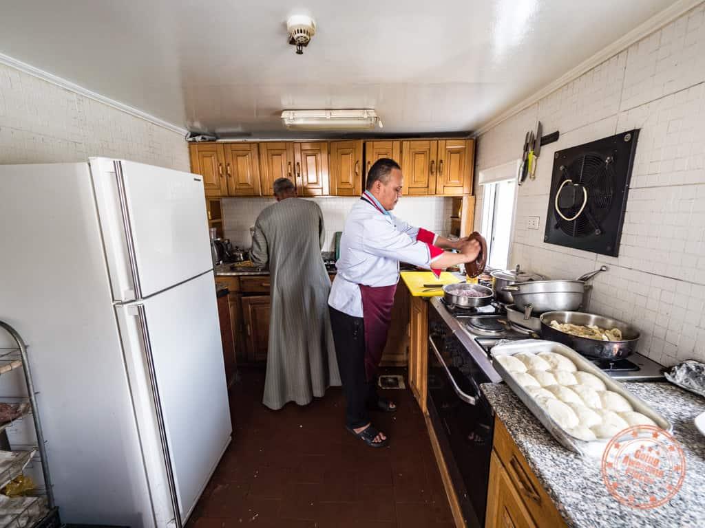 dahabiya loulia with djed egypt travel kitchen