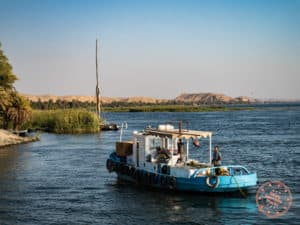 dahabiya nile cruise tug boat