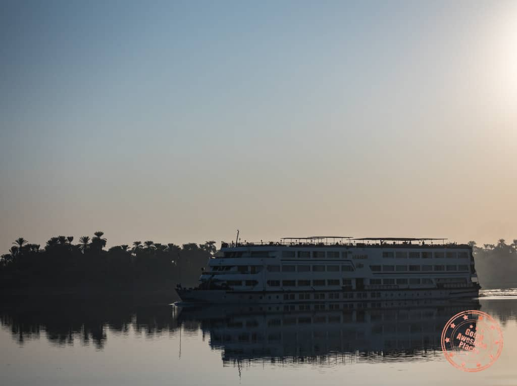 egypt nile cruise ship