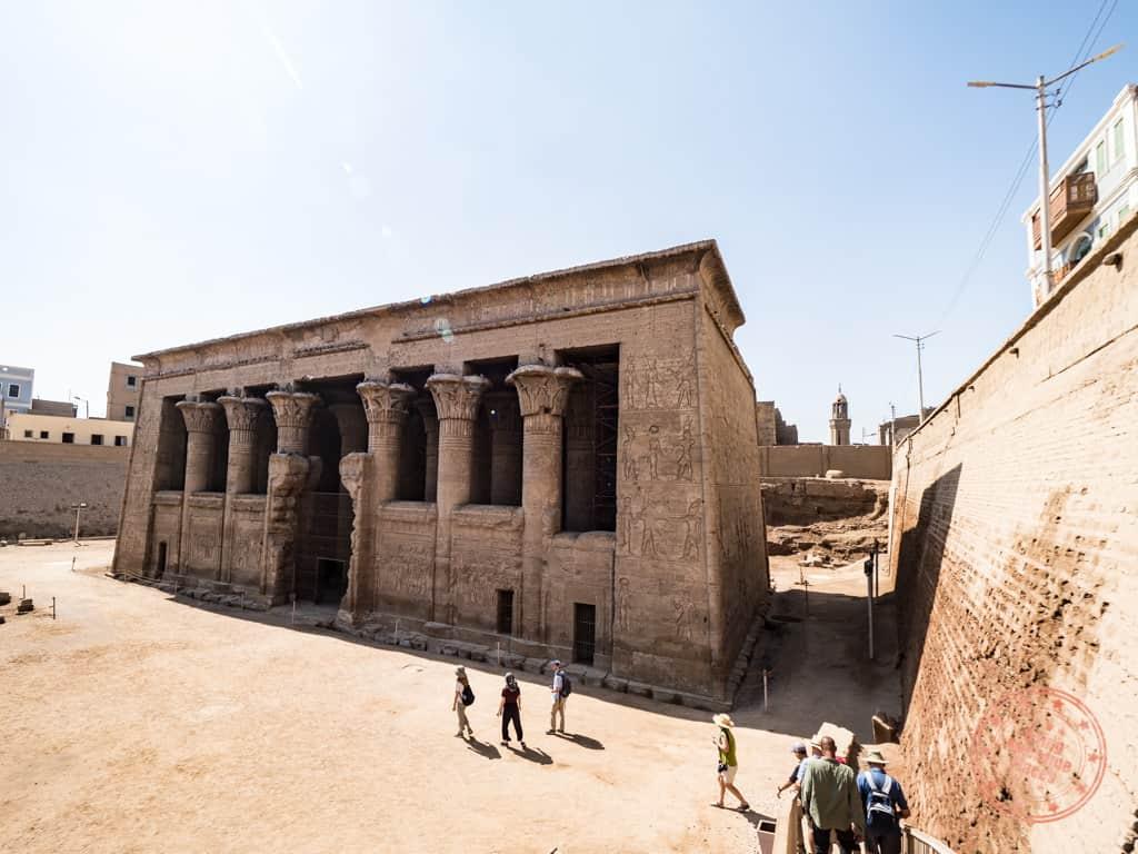 esna temple dahabiya excursion