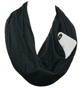 infinity scarf safety travel gear