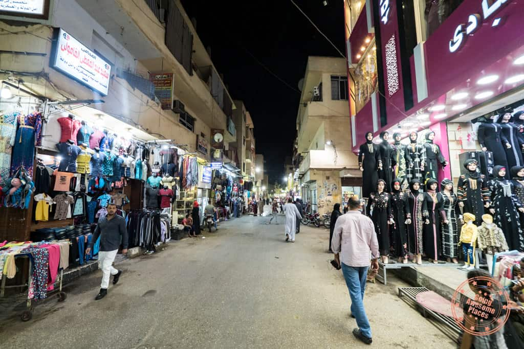 is egypt safe walking streets of luxor
