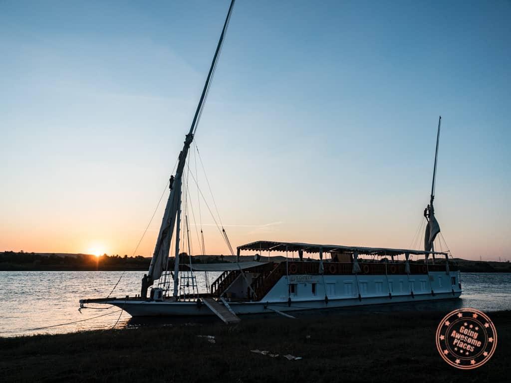 nile cruise from luxor to aswan egypt dahabiya review guide