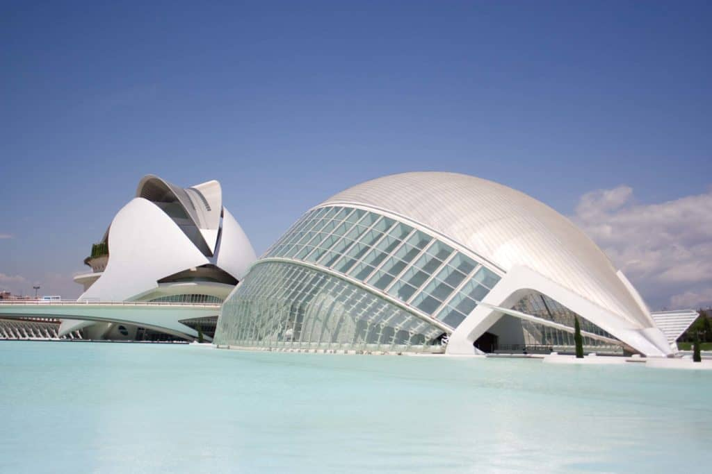 valencia city of the arts and science architecture