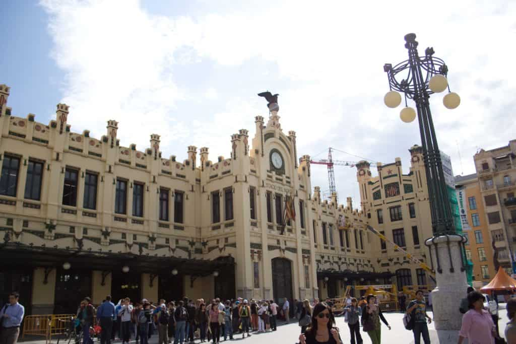stacio del nord train station best things to do in valencia spain