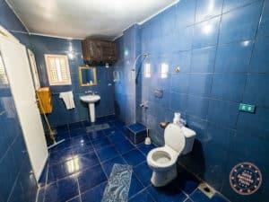 villa nile house open concept bathroom in luxor