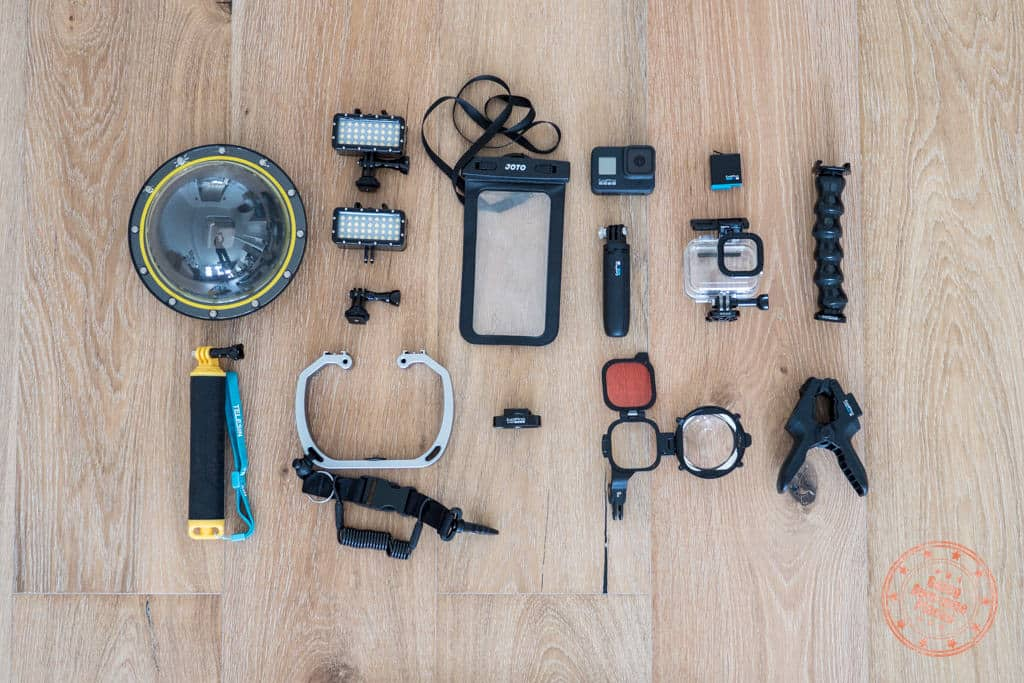 underwater camera gear for what to pack to tahiti