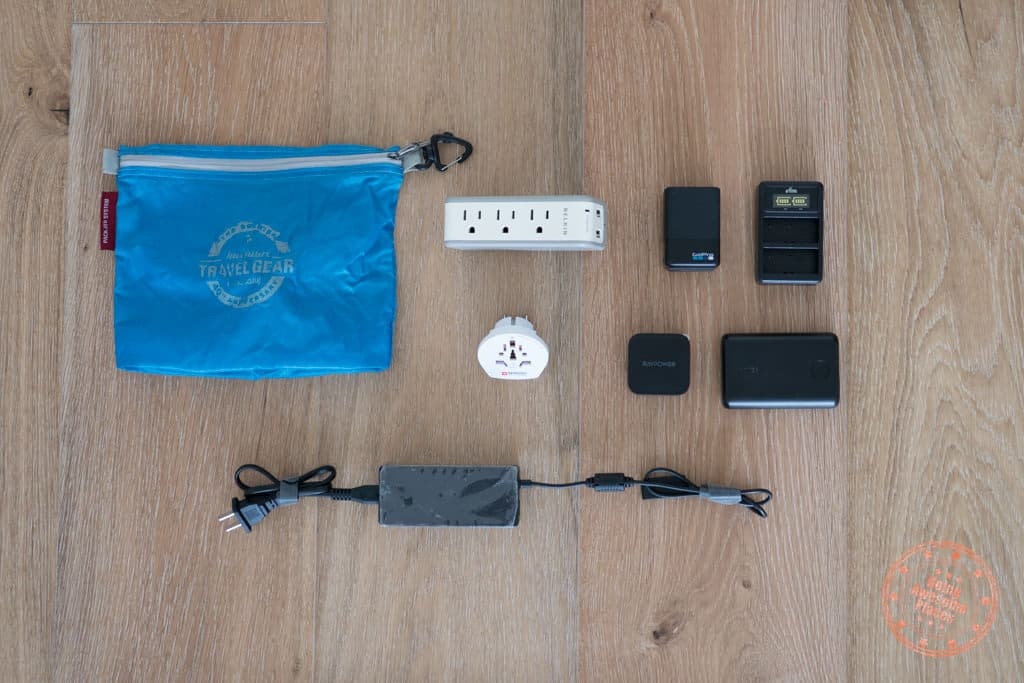 electronic charging tech for tahiti packing list