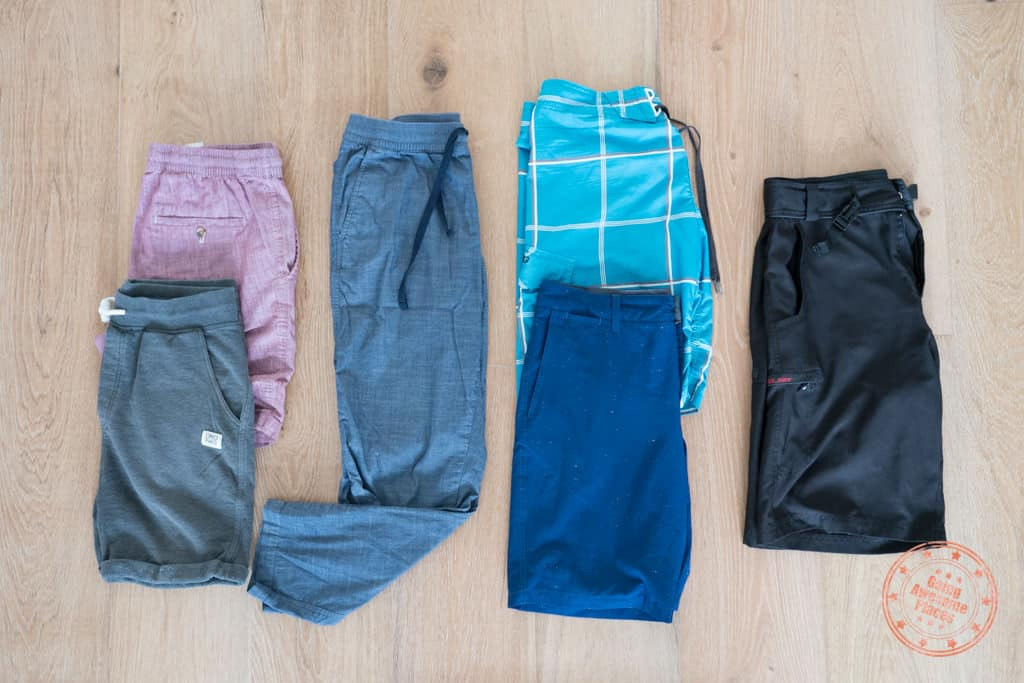 pants to pack to french polynesia