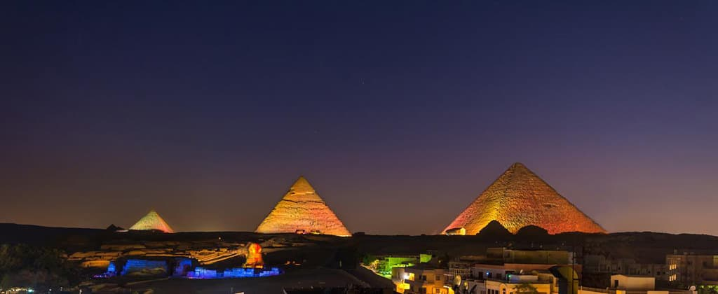 where to stay in giza pyramids inn evening view