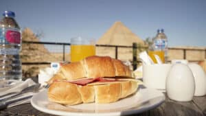 pyramids guest house breakfast