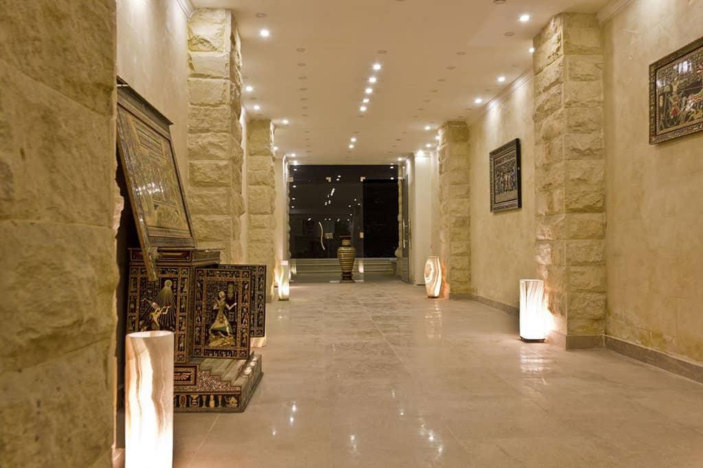 pyramids valley hotel lobby