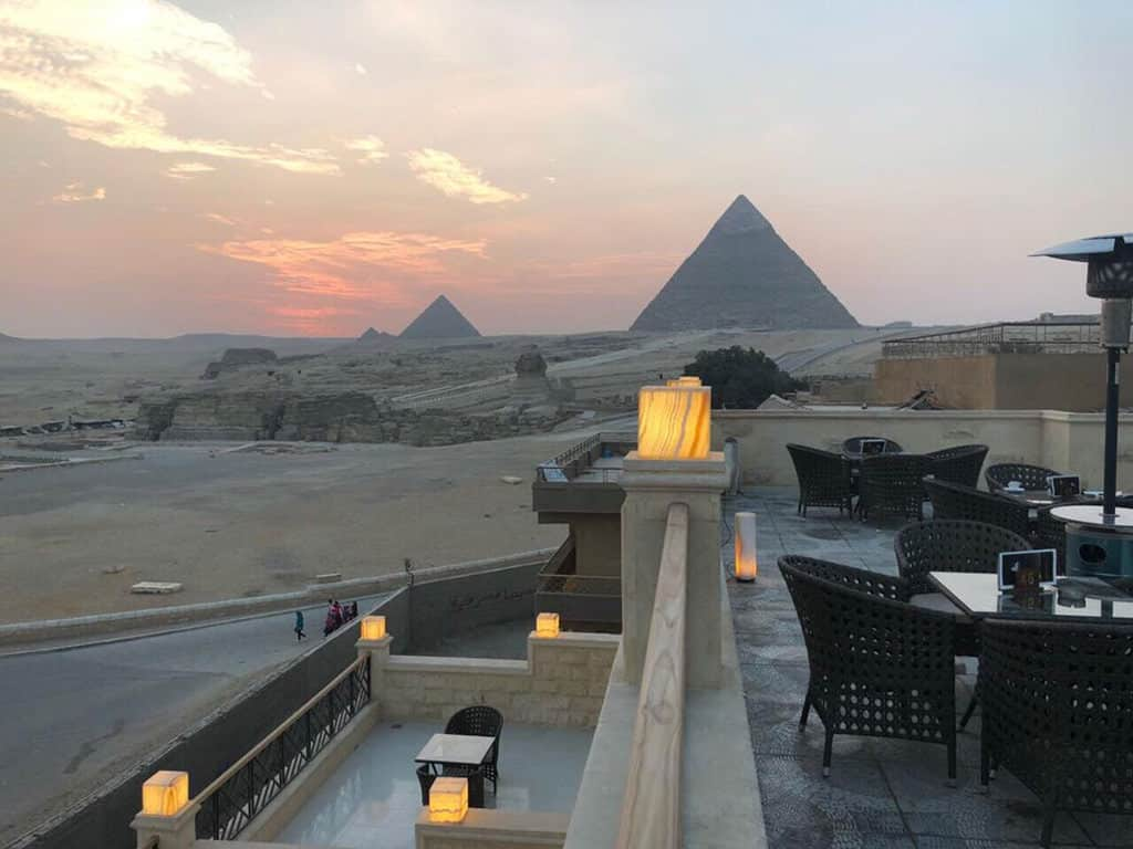 pyramids valley hotel rooftop best hotels near pyramids of giza