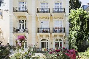 beautiful hotel park villa in vienna