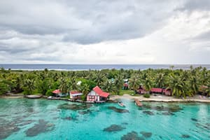 pension paparara where to stay in fakarava