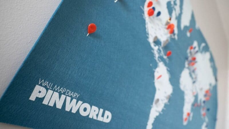 world maps with pins featured