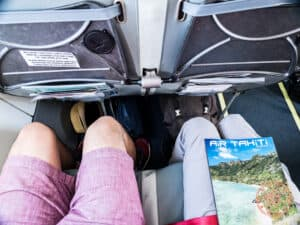air tahiti flight leg room