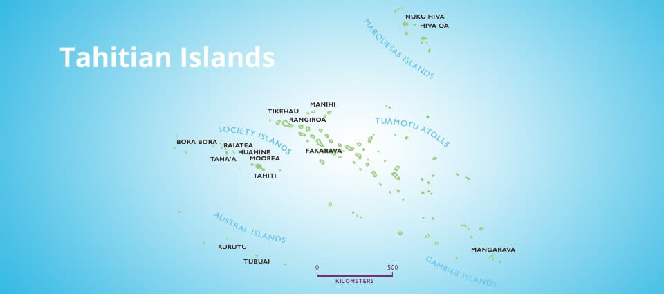 french polynesia islands and archipelagos