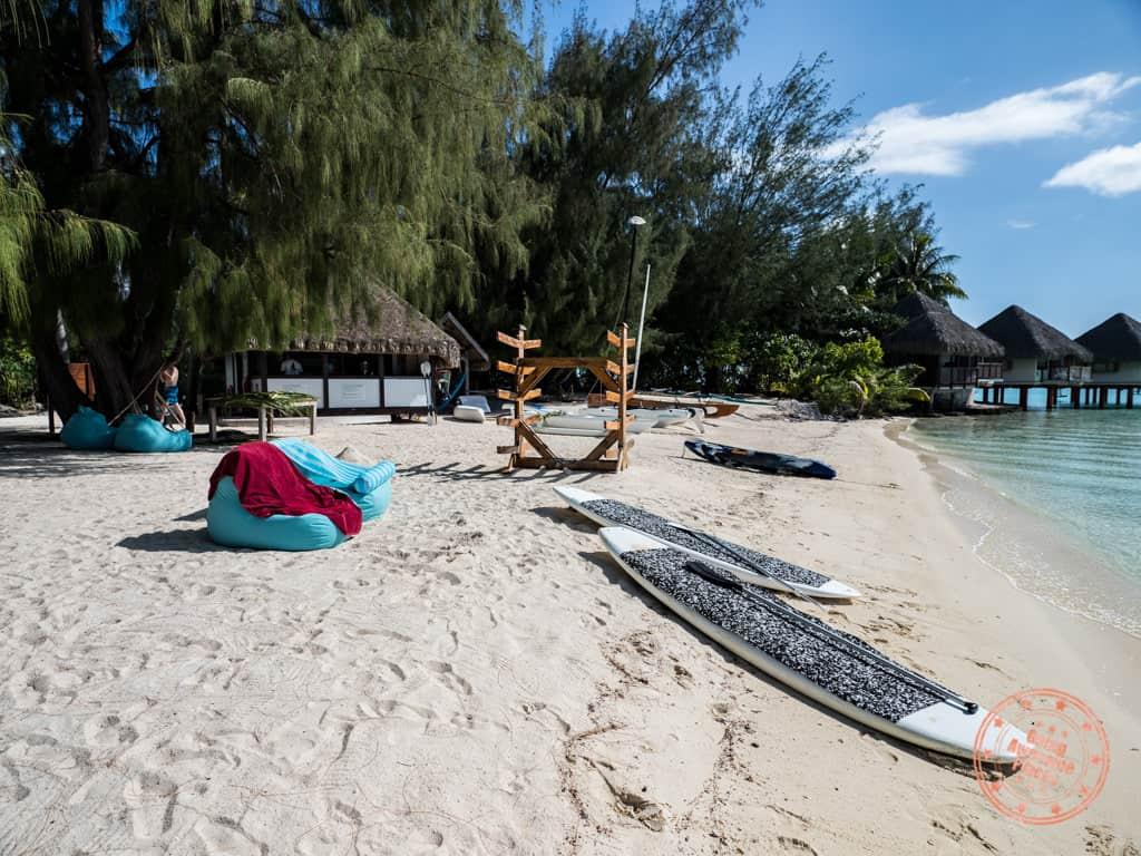 le meridien bora bora beach activities
