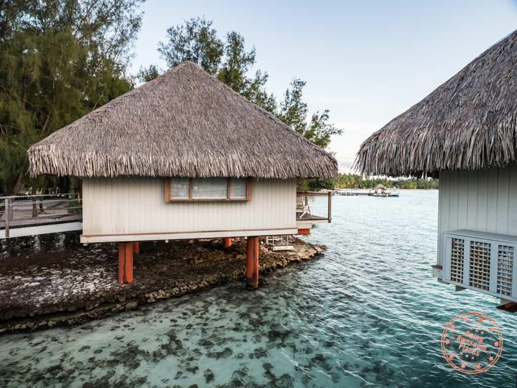 le meridien bora bora standard reward overwater bungalow