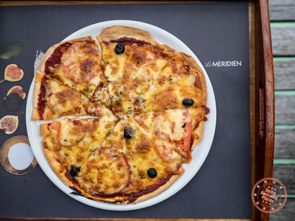 le meridien bora bora kids pizza margarita