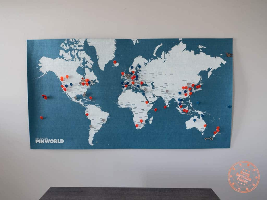 palomar pinworld wall world map with pins