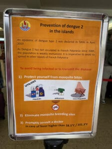 dengue fever sign in tahiti