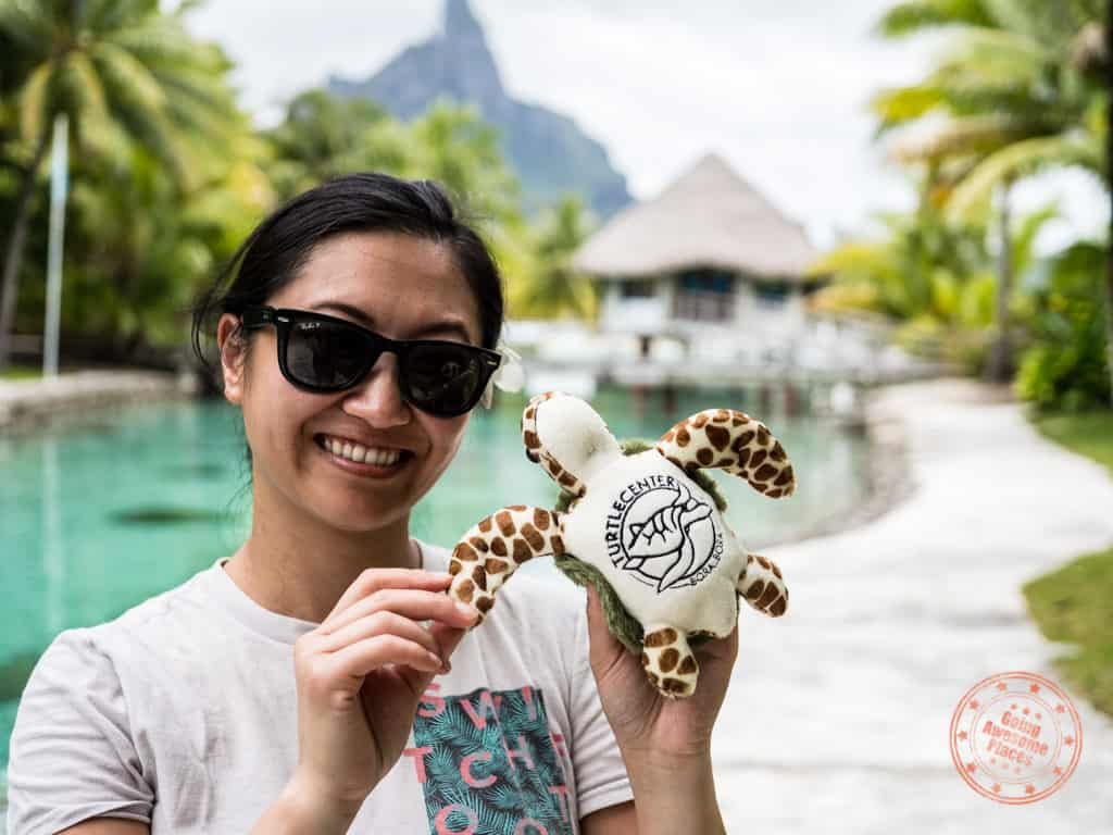 turtle center le meridien bora bora plus toy