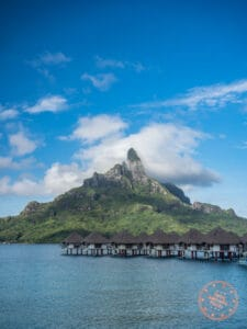 view from le meridien bora bora overwater bungalow 208