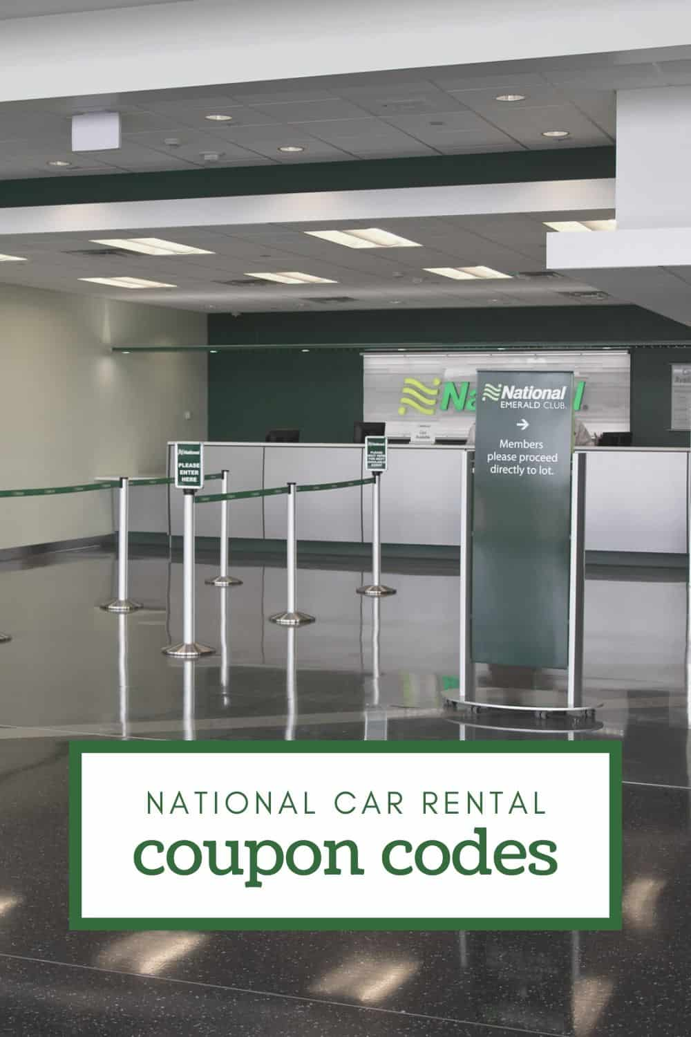 Complete Listing of Top National Rental Car Discount Codes in 2021